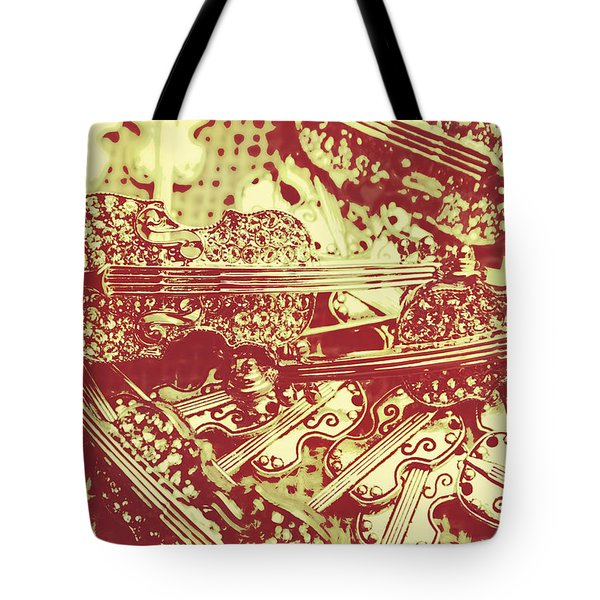 The Violinist Playwright Tote Bag
