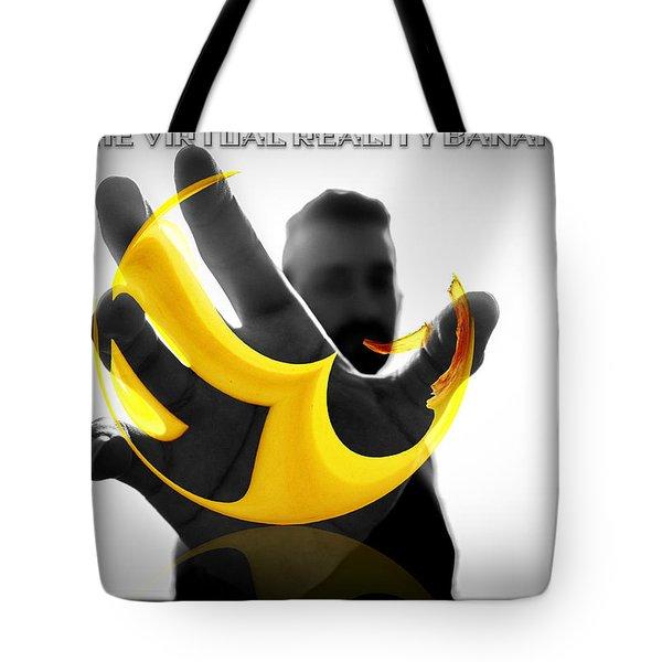 The Virtual Reality Banana Tote Bag