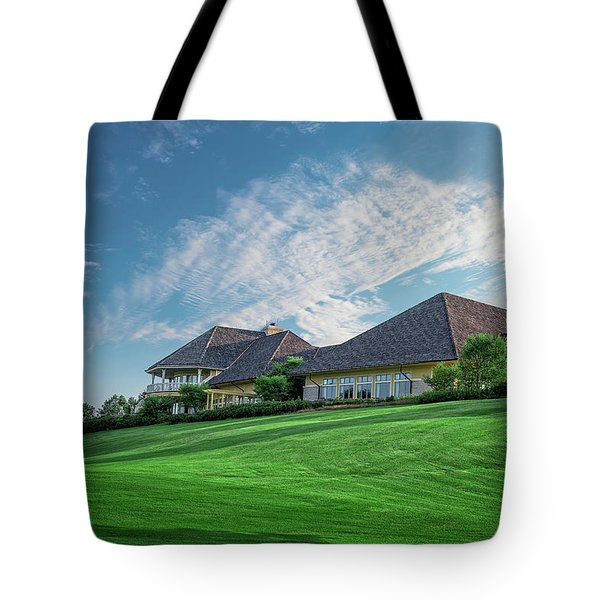 The Virtues Golf Course Clubhouse Tote Bag