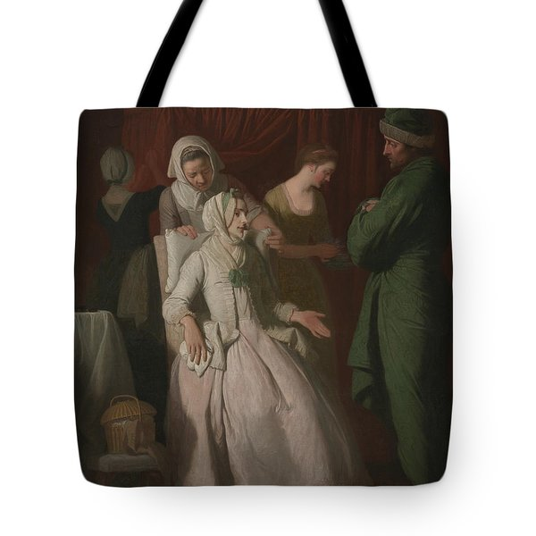 The Virtuous Comforted By Sympathy Tote Bag
