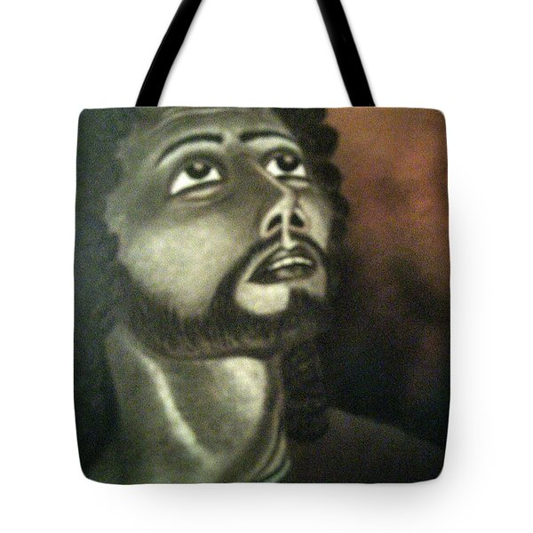 The Vision Of St. Christopher Tote Bag