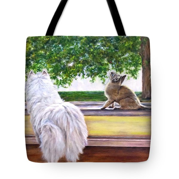 The Visit Tote Bag