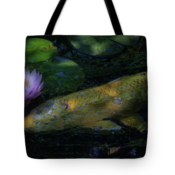Tote Bag featuring the photograph The Visitor by David Coblitz
