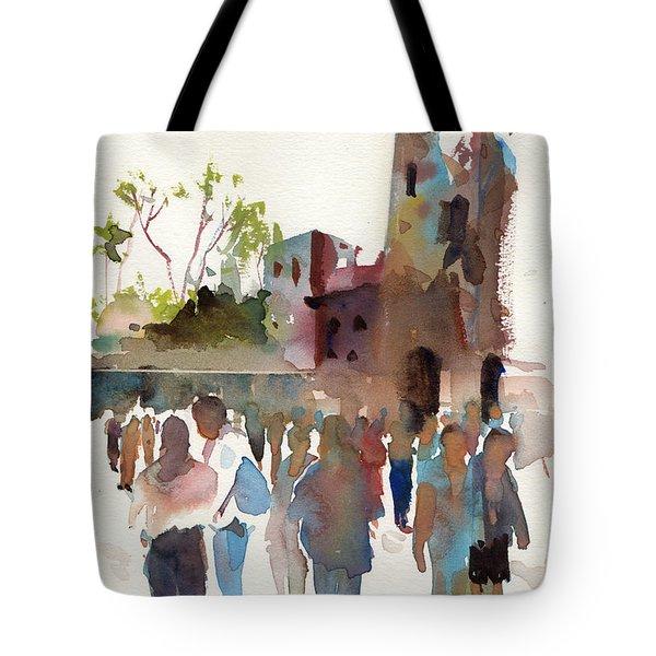 The Visitors Tote Bag