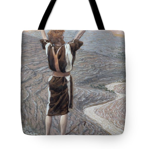 The Voice In The Desert Tote Bag