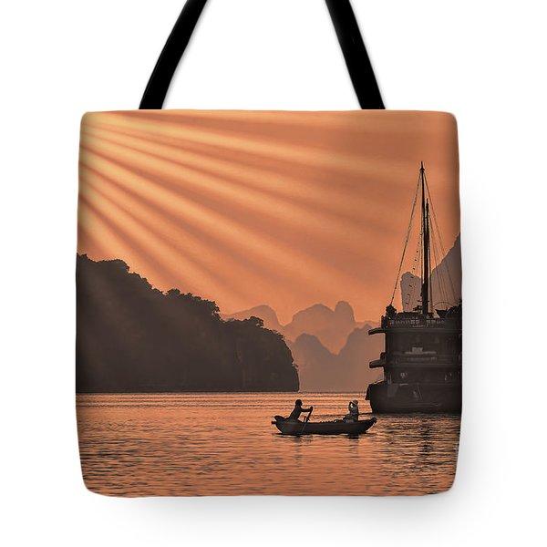 The Voyage Ha Long Bay Vietnam  Tote Bag