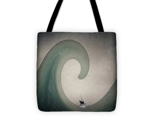 The Voyage Of The James Caird. Tote Bag by Andy Walsh