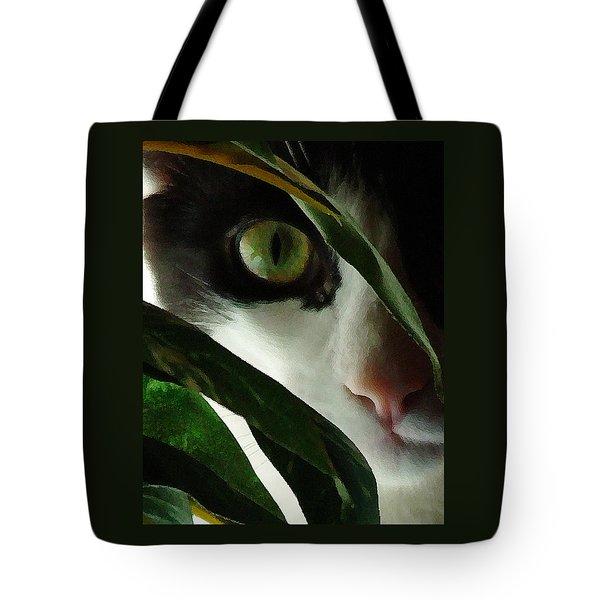 The  Voyeur Tote Bag by Lynn Andrews