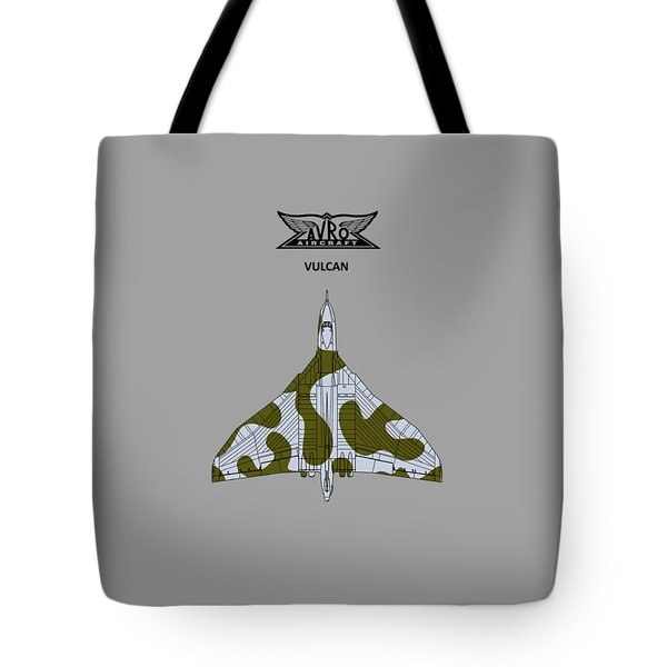 The Vulcan - White Tote Bag