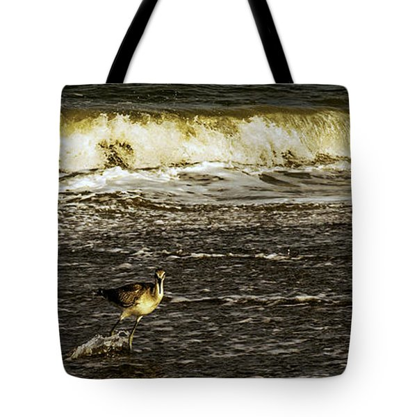 The Wading Willet  Tote Bag