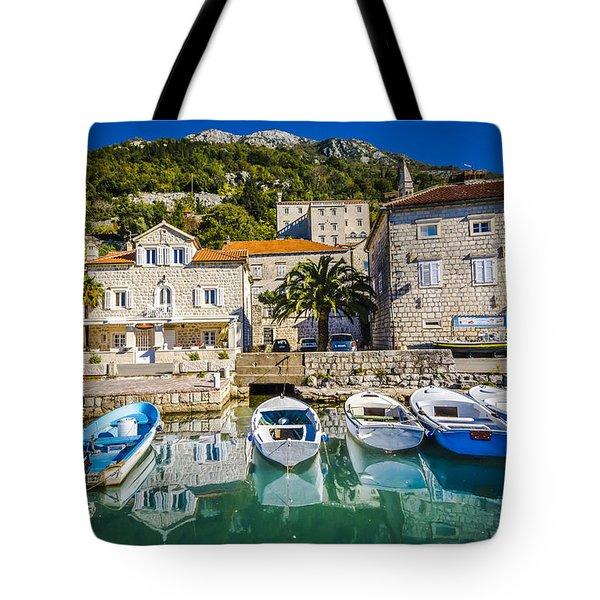 The Waiting Boats Tote Bag