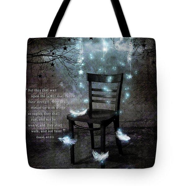 The Waiting Room II Tote Bag