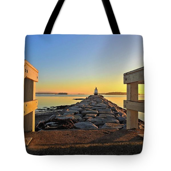The Walkway Tote Bag