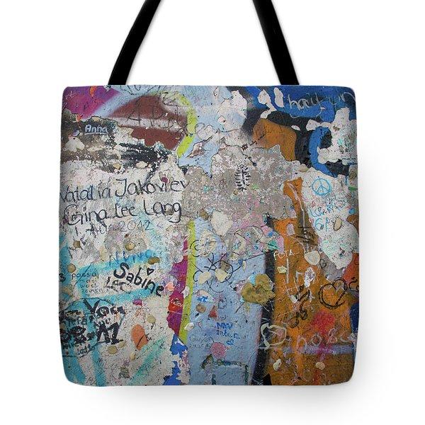 The Wall #10 Tote Bag