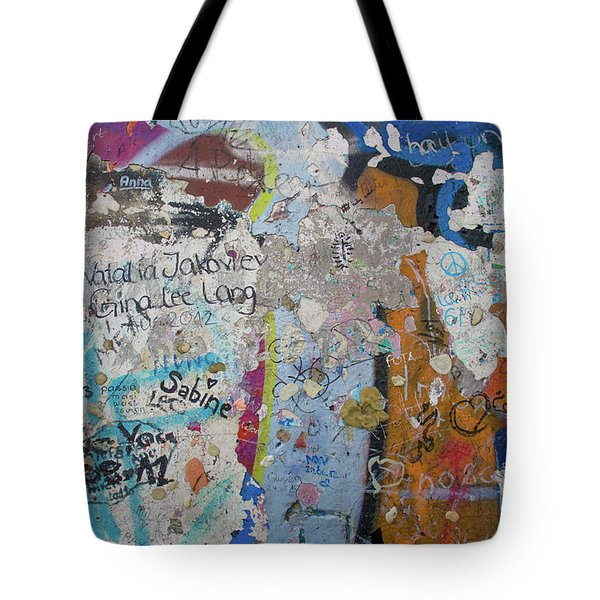 The Wall #10 Tote Bag