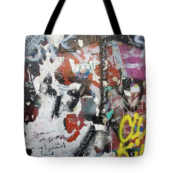 The Wall #11 Tote Bag