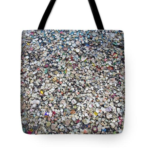 The Wall #12 Tote Bag