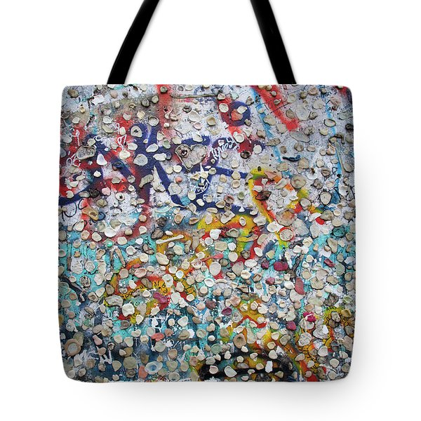 The Wall #2 Tote Bag