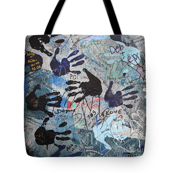 The Wall 34 Tote Bag