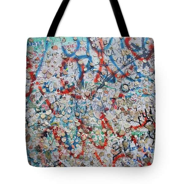 The Wall #7 Tote Bag