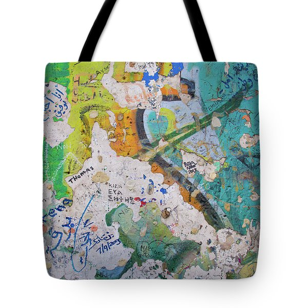 The Wall #8 Tote Bag