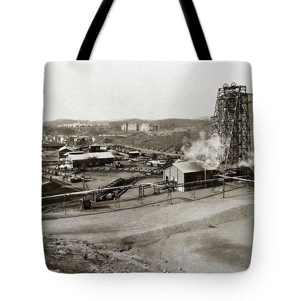The Wanamie Colliery Lehigh And Wilkes Barre Coal Co Wanamie Pa Early 1900s Tote Bag