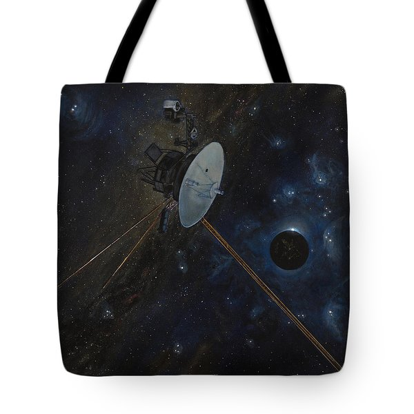 The Wanderer Tote Bag by Simon Kregar
