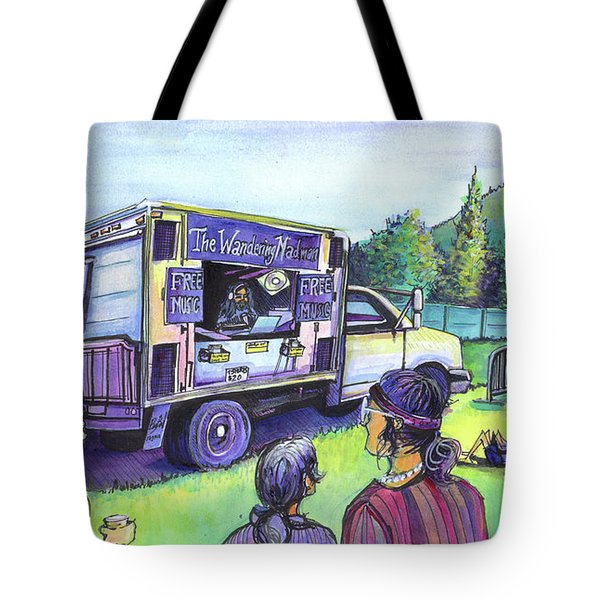 The Wandering Madman Tote Bag