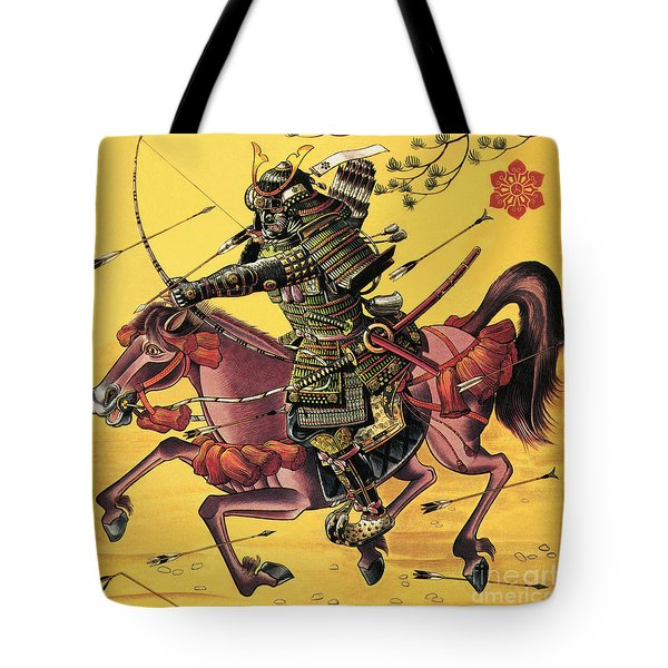 The War Lords Of Japan Tote Bag