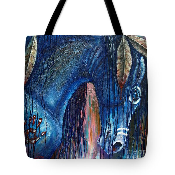 The War Within Tote Bag