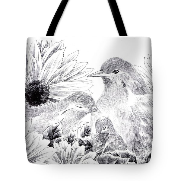 The Warmth In Our Hearts Tote Bag