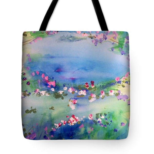 The Warmth Of August Tote Bag