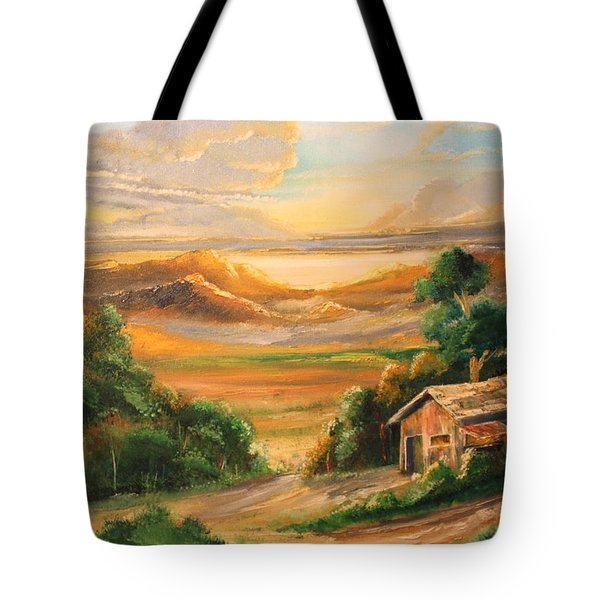 The Warmth Of Sunset Tote Bag