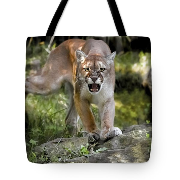 The Warning Tote Bag
