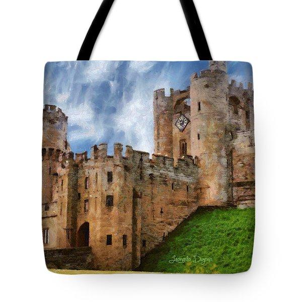 The Warwick Castle Tote Bag
