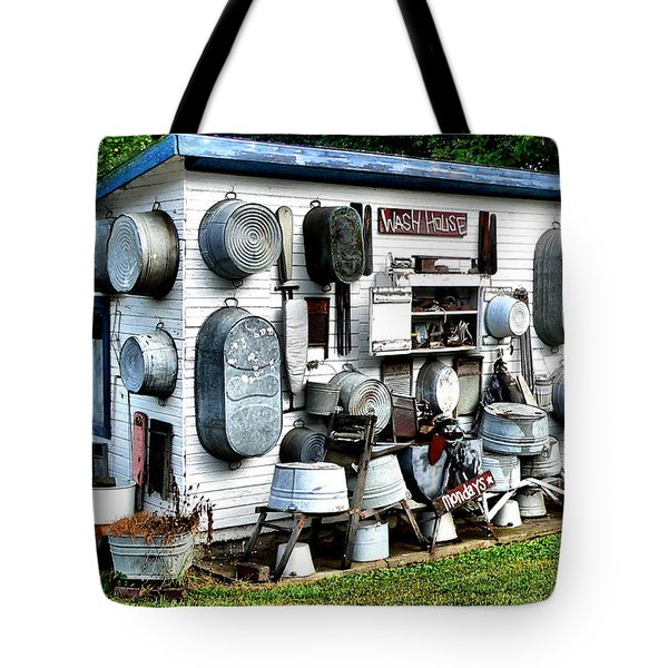 The Wash House Tote Bag