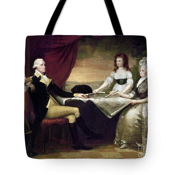 The Washington Family Tote Bag by Granger