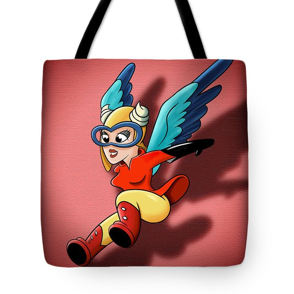 the WASP Tote Bag by David Collins