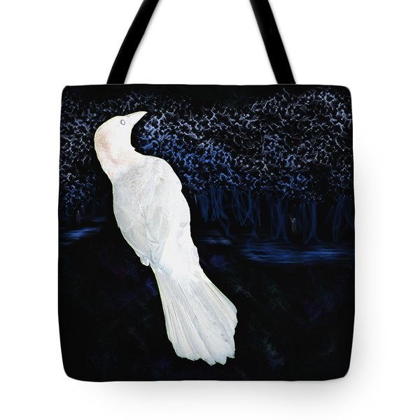 The Watcher In The Forest Tote Bag by Aliceann Carlton