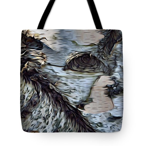 The Watcher In The Wood Tote Bag