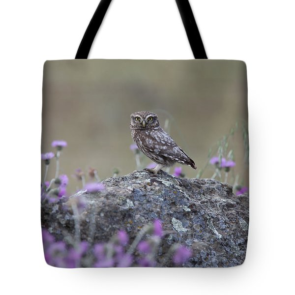The Watcher Watched Tote Bag