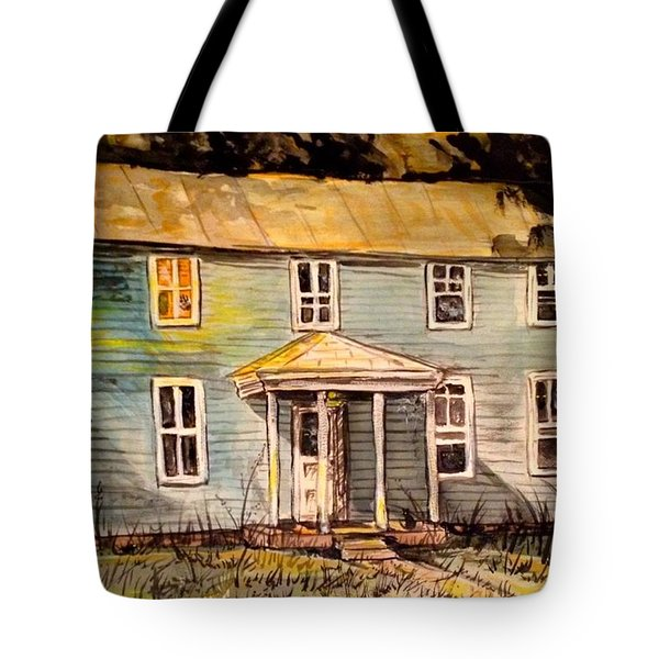 Look. We Used To Live There Tote Bag