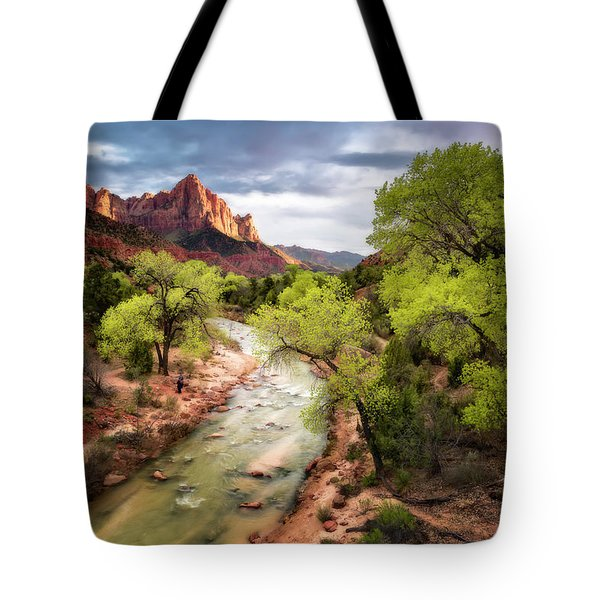 Tote Bag featuring the photograph The Watchman by Eduard Moldoveanu