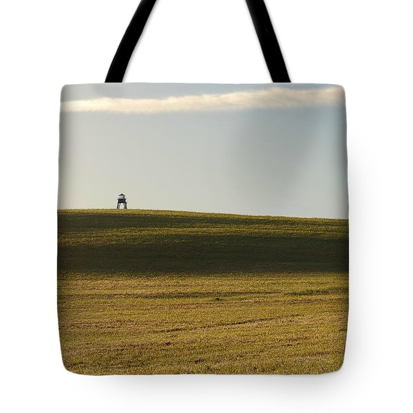 The Watchtower Tote Bag by Richard Reeve