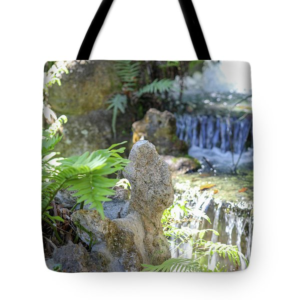 The Water And Rock Spot Tote Bag