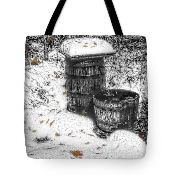 The Water Barrel Tote Bag