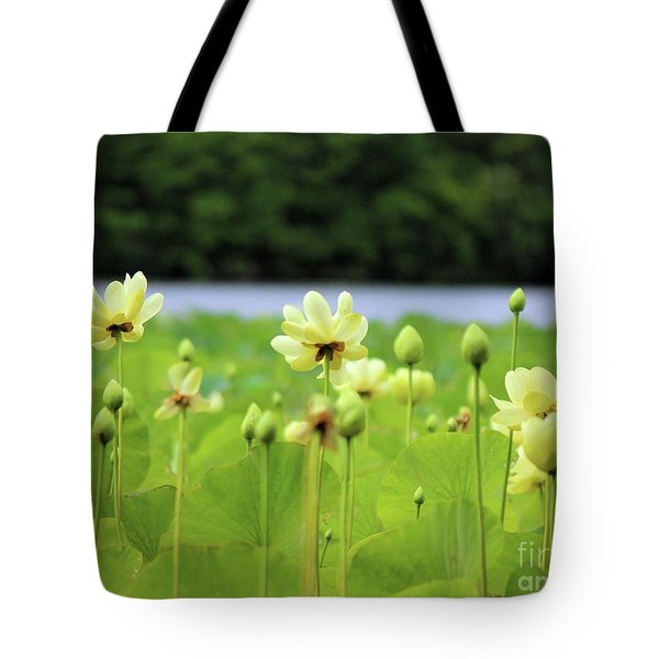 The Water Fields  Tote Bag