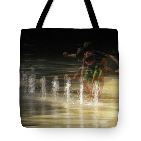 The Water Maestro  Tote Bag