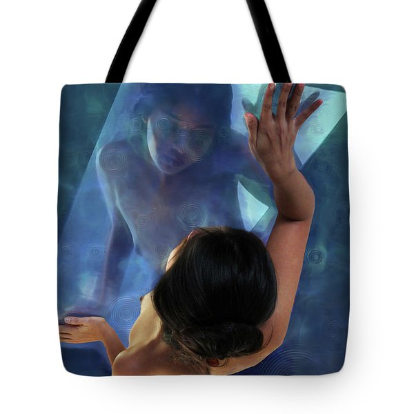 The Water Nymph Tote Bag by Aleksander Rotner