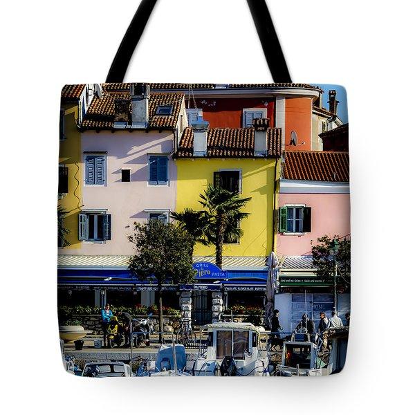 The Watercolors In Split Tote Bag